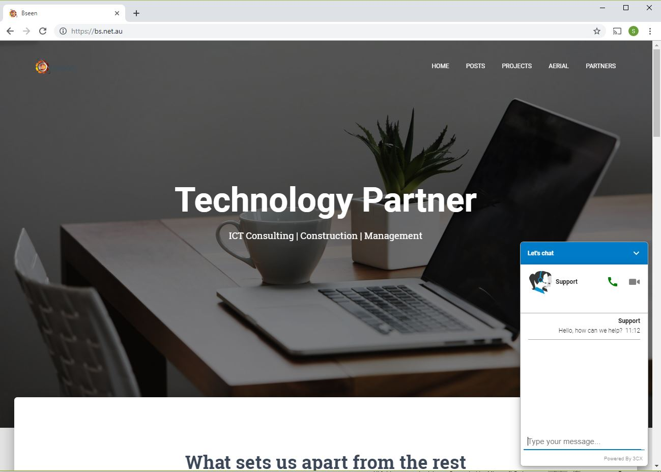 ICT: Live Chat & Talk directly from your Website – Bseen
